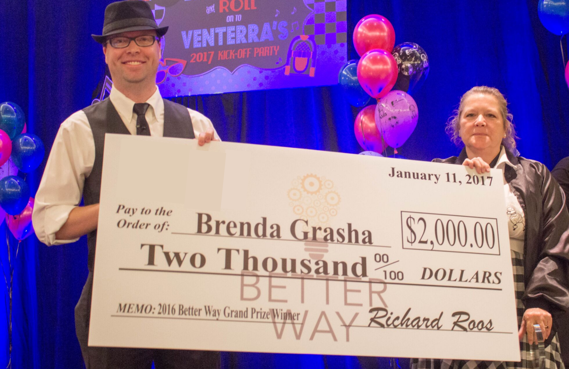 brenda grasha better way winner 2017
