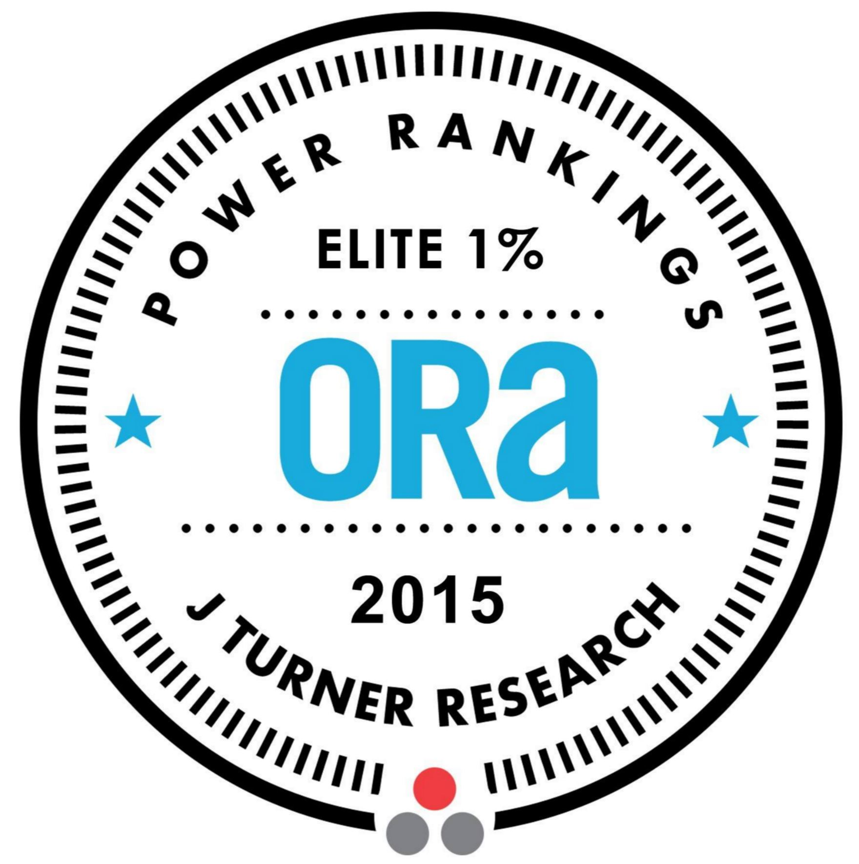 ORA power rankings j turner elite