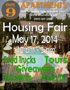 Park 9 Housing Fair