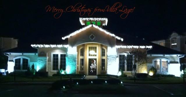 Villa Logo Christmas Lights
