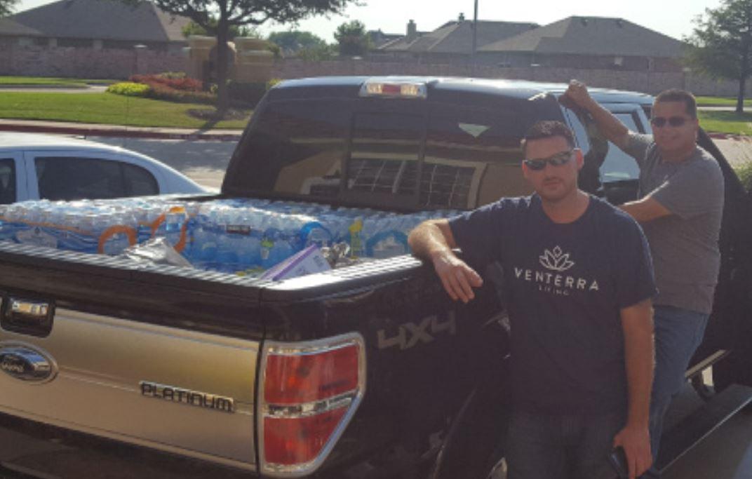 hurricane harvey donations dallas