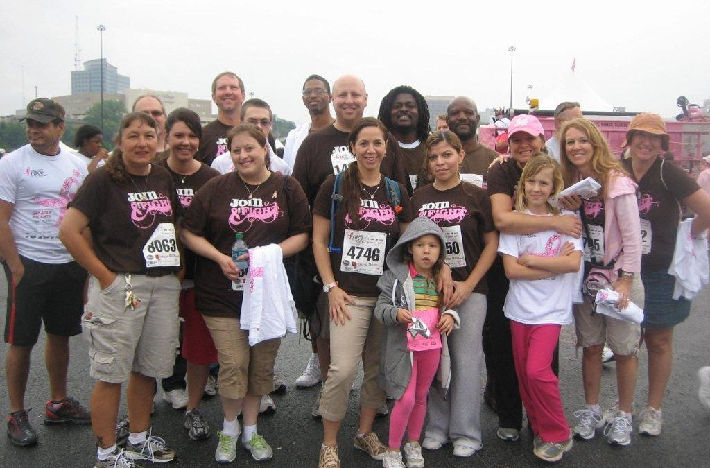 Atlanta Race for the Cure!
