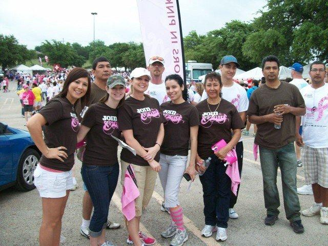 Fort Worth Race for the Cure!
