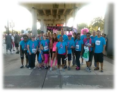 2013 Jacksonville Race for the Cure!