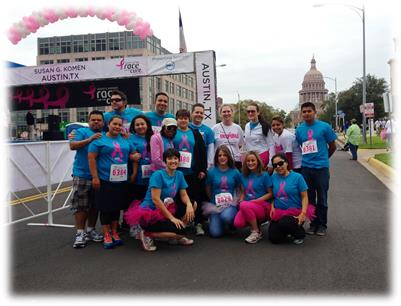 2013 Austin Race for the Cure!