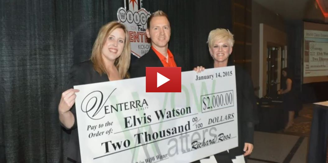 Elvis Watson: Our 2014 Grand Prize WOW Winner!