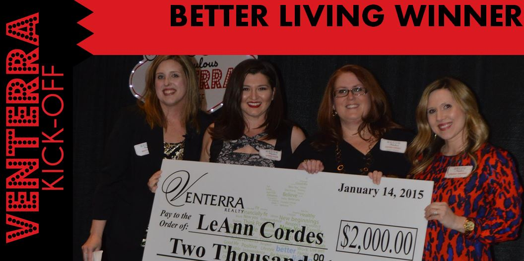 LeAnn Cordes: Our 2014 Better Living Champion!