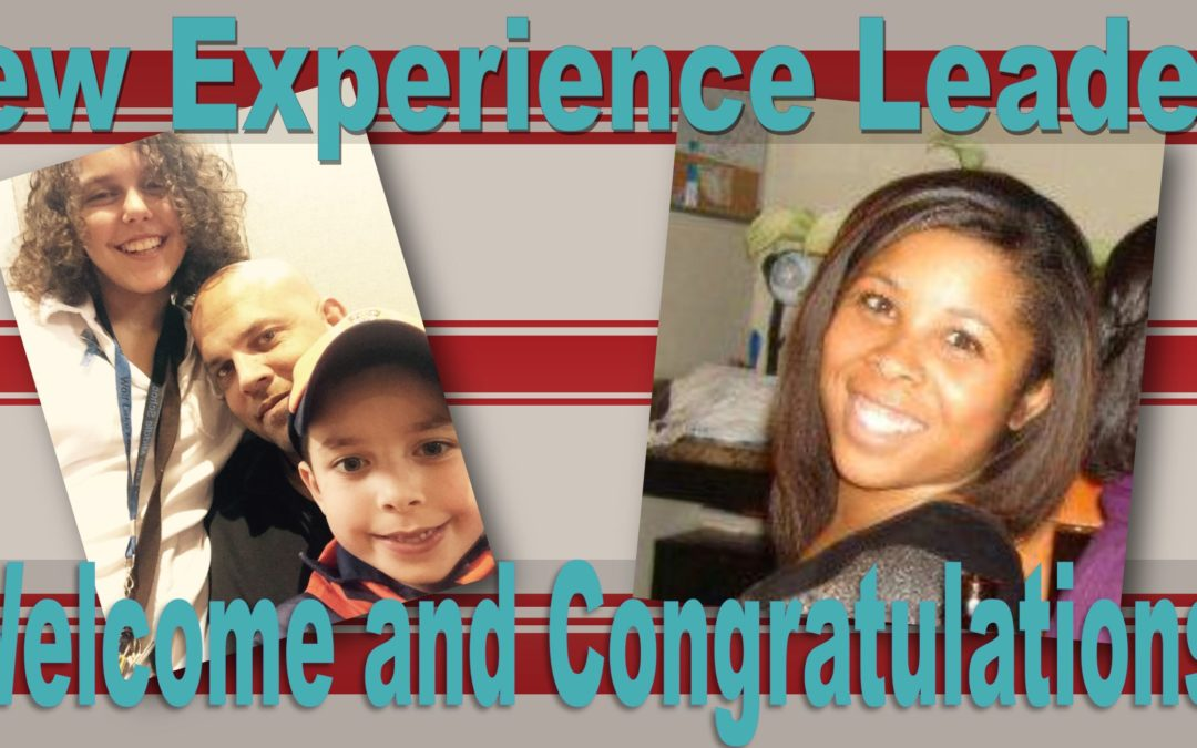 New Experience Leaders!