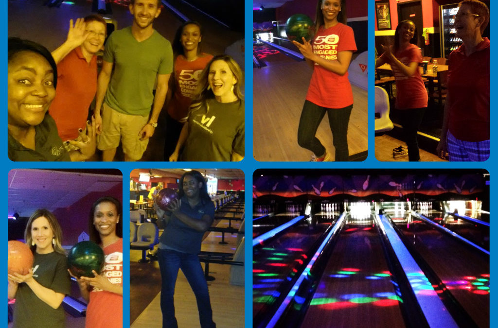 The Houston Corporate Team Goes Bowling!