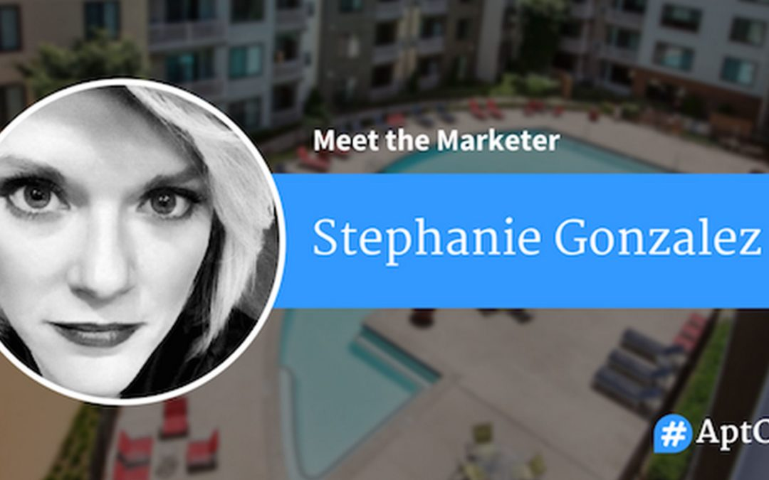 #AptChat Talks with Stephanie Gonzalez!