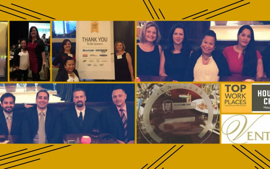 Houston Chronicle Top Workplaces Dinner