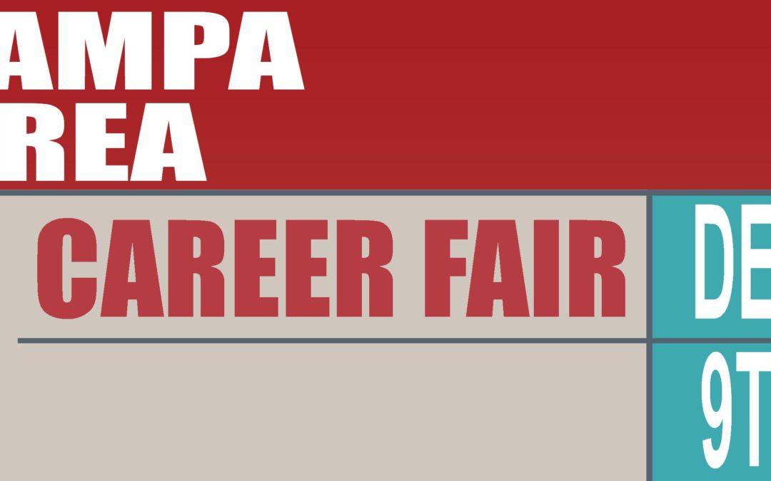 December 9th – Tampa Career Fair!