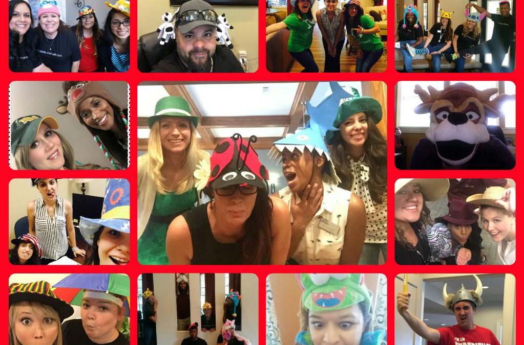 Crazy Hat Fun Friday