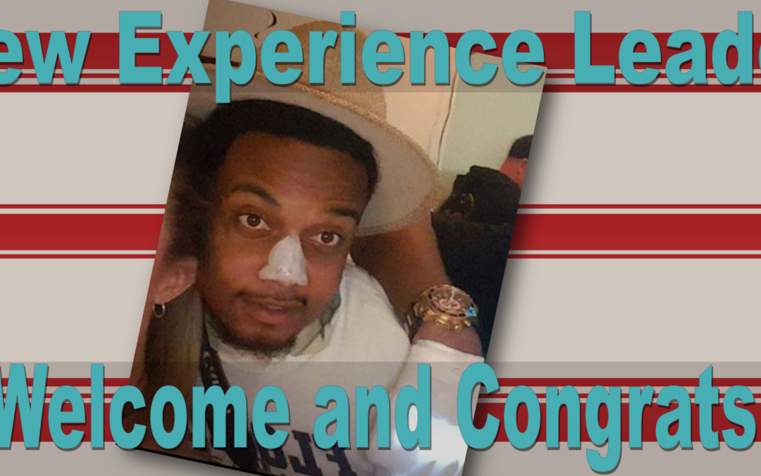 New Experience Leader at Cedar Springs!