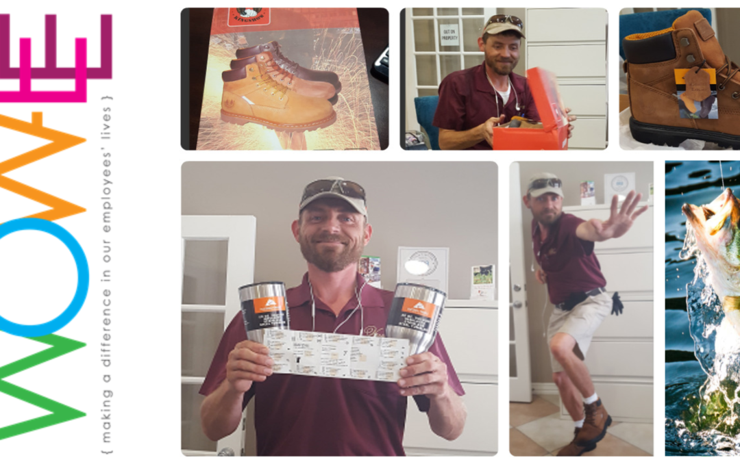 Daylon Gets WOWed with New License, Boots, and Mugs!