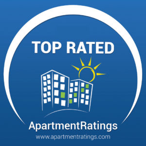 apartmentratings.com logo top rated in 2019