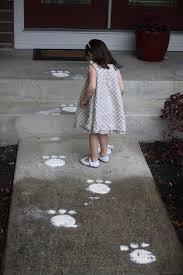 easter egg hunt bunny tracks