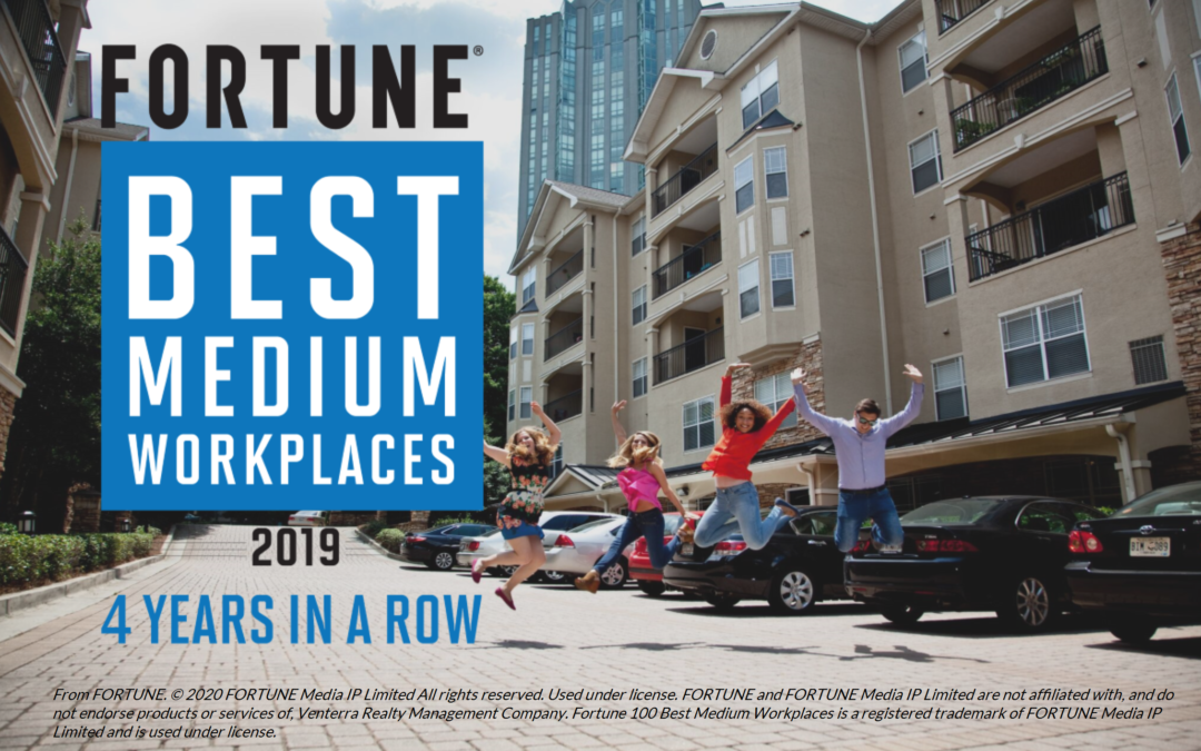 Named a Great Place to Work® Best Medium Workplace for a 4th Time in a Row!