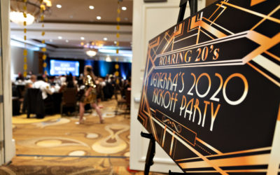 Roaring 20s in 2020 Kick-Off Parties
