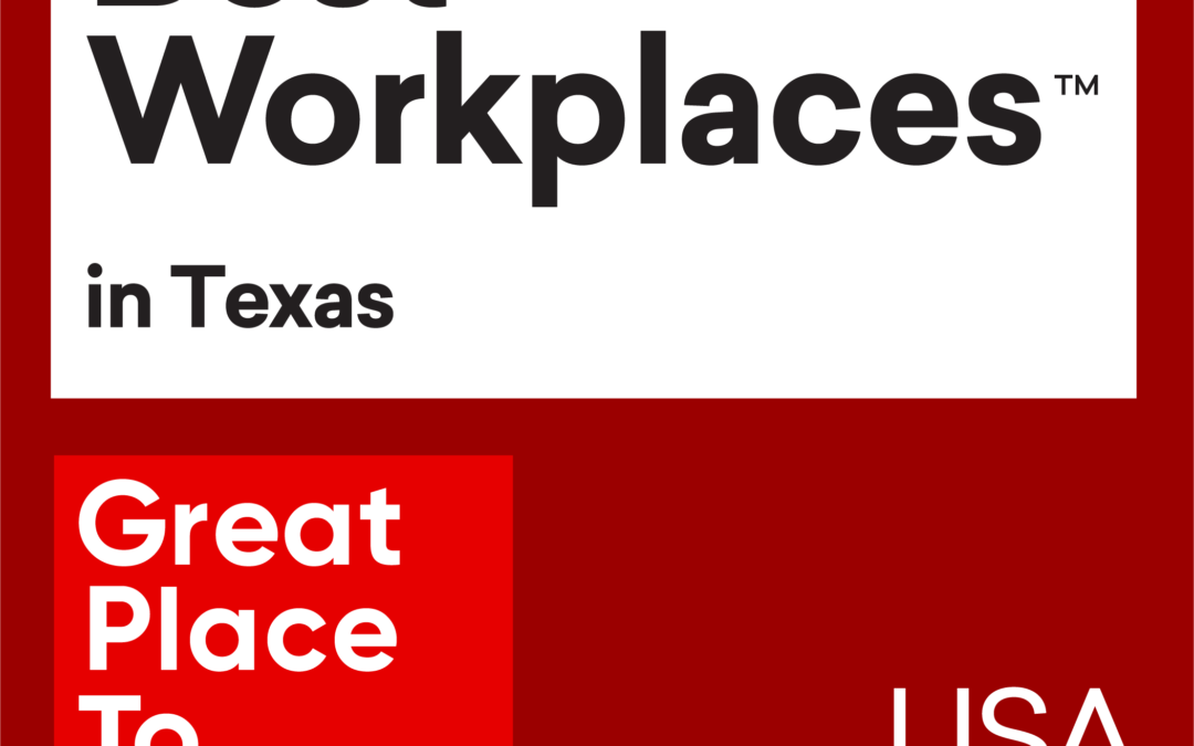 3rd Year in a Row: Venterra Named One of the 2020 Best Workplaces in Texas