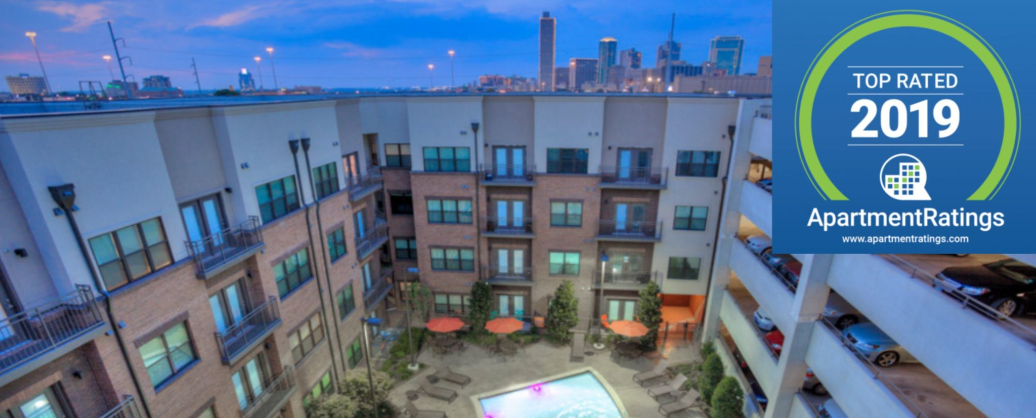 Top Rated in 2019 by ApartmentRatings.com!