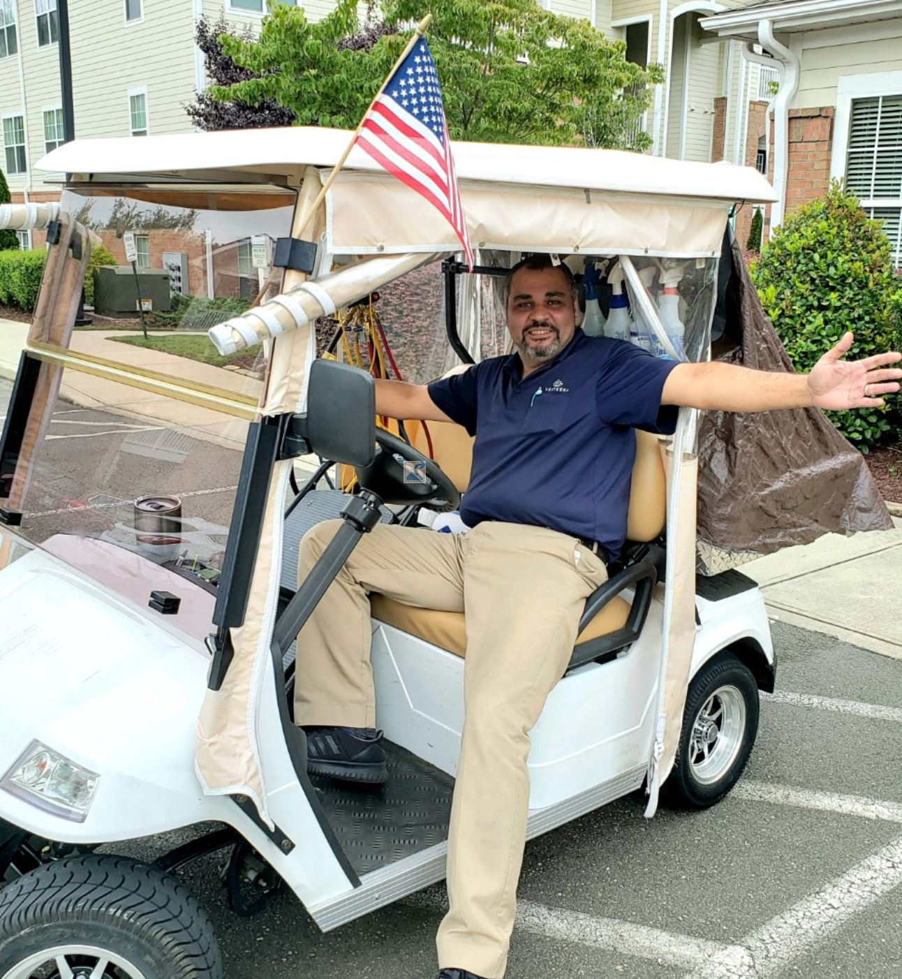 still hiring - golf cart flag - VEX book 2019