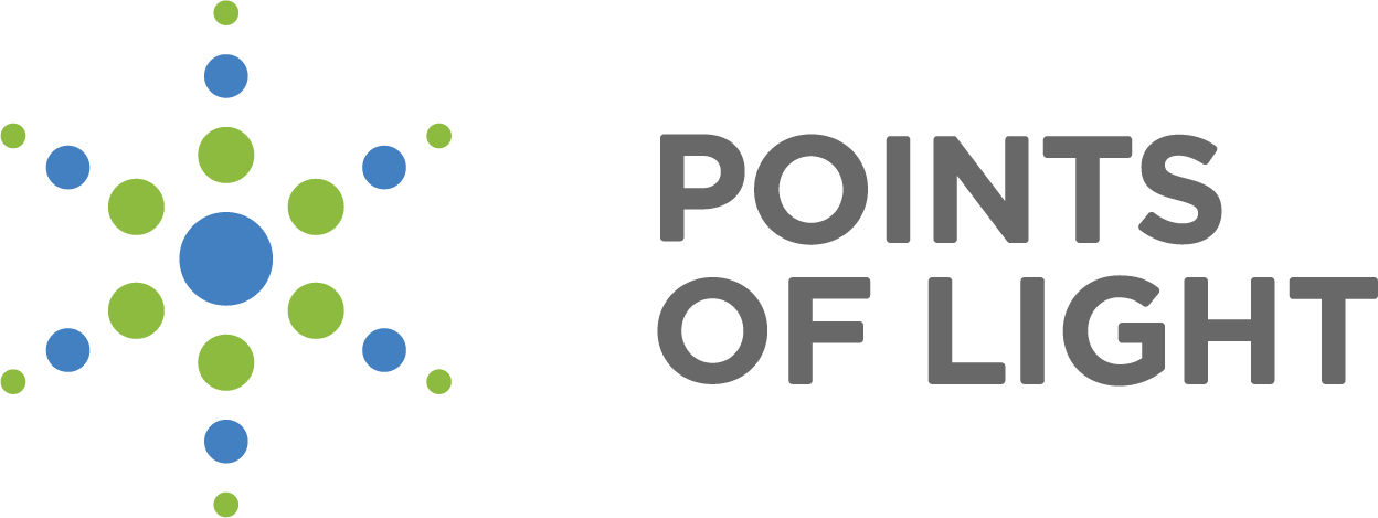 Points of Light Logo - Giving Tuesday