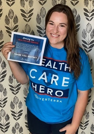 Whitney - Healthcare Hero